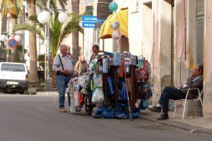 Mobiles Kaufhaus in Calatabiano