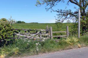 Am Hadrian's Wall nahe Brampton