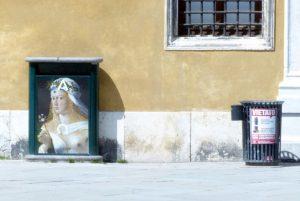 Venedig - Kunst am Elektroverteiler