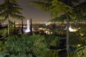 Verona, Blick vom Campeggio Castel San Pietro am Abend